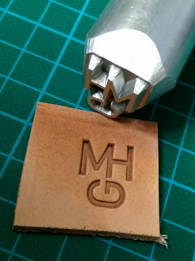 Heat Press Stamps And Aluminum Leather